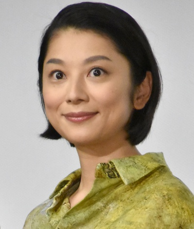 映画『パーフェクト・レボリューション』完成披露上映会に出席した小池栄子 (C)ORICON NewS inc.