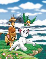 TOKYO MXで10月より放送、アニメ『ジャングル大帝(1989)』(C)学研/日本経済社/手塚プロダクション