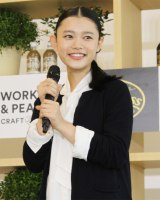 サントリーペットボトル入りコーヒー『クラフトボス』の商品体験会に出席した杉咲花 (C)oricon ME inc.