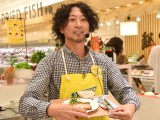 試食イベントを開催したイシバシハザマ・石橋尊久(C)ORICON NewS inc.