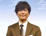 ドラマ『父、ノブナガ。』の製作発表記者会見に出席した田辺誠一(C)ORICON NewS inc.