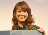 ドラマ『父、ノブナガ。』の製作発表記者会見に出席した森口瑤子 (C)ORICON NewS inc.