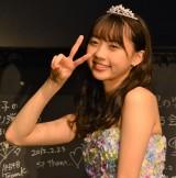 AKB48を卒業公演した木崎ゆりあ (C)ORICON NewS inc.