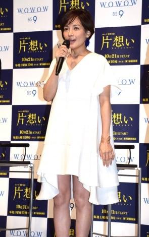 サムネイル 第2子妊娠後、初めて公の場に登場した国仲涼子 (C)ORICON NewS inc.