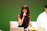 ファンとともに『ひよっこ』最終回(再放送)を見届けた有村架純(C)NHK