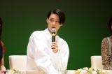 茨城県高萩市で開催された『連続テレビ小説「ひよっこ」ファン感謝祭最終回を一緒に見よう!!』に出席した磯村勇人(C)NHK