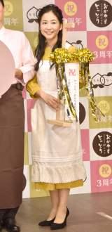 「とっとり・おかやま新橋館」3周年記念SPメニュー発表会に出席した関根麻里 (C)ORICON NewS inc.