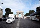 パリの凱旋門からヨーロッパのアルプス山脈を越える「世界遺産黄金ルート」を行く(C)テレビ東京