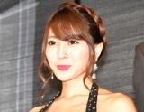 ドラマ『ハケンのキャバ嬢・彩華』制作発表会見に出席した森咲智美 (C)ORICON NewS inc.
