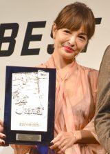 第34回『ベストジーニスト2017』で「協議会選出部門」を受賞した梨花 (C)ORICON NewS inc.