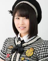 10月9日生放送、『第84回NHK全国学校音楽コンクール』中学校の部にゲスト出演するAKB48の横山由依(C)AKS