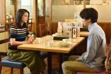 日本テレビ系連続ドラマ『今からあなたを脅迫します』第1話に出演する稲葉友(右)と武井咲 (C)日本テレビ