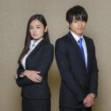 白洲迅(右)と共演の片山萌美(左)(C)テレビ朝日