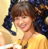 映画『美女と野獣』MovieNEX発売記念イベントに出席した優木まおみ (C)ORICON NewS inc.