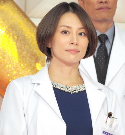 『ドクターX』第5シリーズに向けて意気込みを語った米倉涼子 =ドラマ『ドクターX〜外科医・大門未知子〜』の制作発表記者会見 (C)ORICON NewS inc.