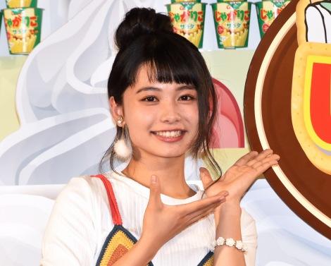 カルビー『じゃがりこの日』PRイベントに出席した足立佳奈 (C)ORICON NewS inc.
