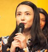 NHK大河ドラマ『西郷どん』の出演者発表会見に出席したミムラ (C)ORICON NewS inc.