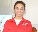 中国人気健在に「マンモスうれピー」と満面の笑顔を見せた酒井法子=舞台『うんちゃん2』のゲネプロ&囲み取材 (C)ORICON NewS inc.