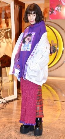 期間限定ショップ『Candy Stripper ISETAN SHINJUKU』プレスプレビューに来場した仲里依紗 (C)ORICON NewS inc.