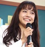 土曜ナイトドラマ『オトナ高校』の制作発表会見に出席した松井愛莉 (C)ORICON NewS inc.