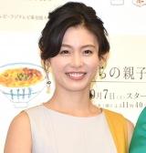 ドラマ『さくらの親子丼』制作発表会見に出席した本仮屋ユイカ (C)ORICON NewS inc.