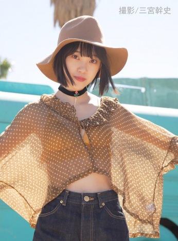 サムネイル 1st写真集を発売する乃木坂46・堀未央奈