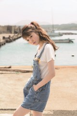 『週刊ヤングジャンプ』45号に登場する松川菜々花(C)Takeo Dec./集英社
