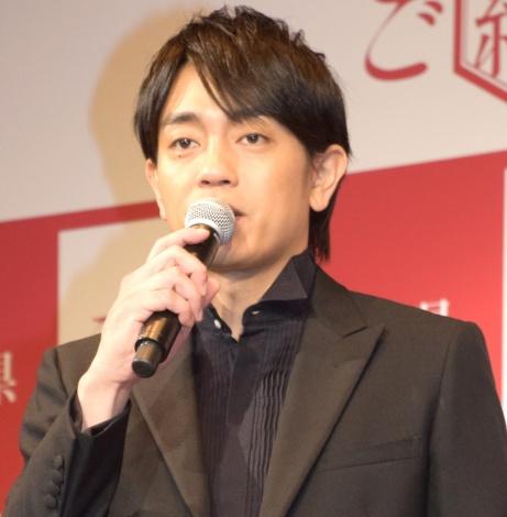『ご縁の国しまね』のプレス発表会に出席した青柳翔 (C)ORICON NewS inc.