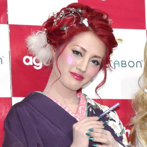 女性向け雑誌『ageha』の新創刊記念イベントに出席した五月千和加 (C)ORICON NewS inc.