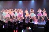 M4「アイシテラブル!」(6期+ドラフト1期+谷真理佳)=『SKE48劇場デビュー9周年特別公演』(C)AKS