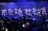 M5「?空?想い」(7期+ドラフト2期)=『SKE48劇場デビュー9周年特別公演』(C)AKS