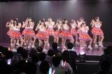 M6「パレオはエメラルド」(8期)=『SKE48劇場デビュー9周年特別公演』(C)AKS