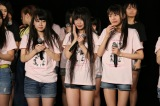 研究生7人の昇格が発表されるサプライズ=『SKE48劇場デビュー9周年特別公演』(C)AKS