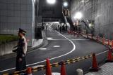 名物企画「赤坂5丁目ミニマラソン」心臓破りの坂 (C)ORICON NewS inc.