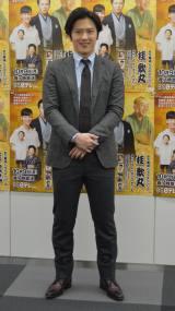 BS日テレ「笑点ドラマスペシャル 桂歌丸」試写会後囲み取材に出席した尾上松也 (C)ORICON NewS inc.