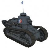 『ガールズ&パンツァー 劇場版 最終章』BC自由学園の戦車「ルノーFT17」 (C)GIRLS und PANZER Finale Projekt