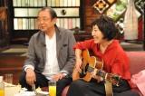 10月9日放送の関西テレビ・フジテレビ系『さんまのまんま 秋のさんまもゲストも脂がノッてますSP』に出演する平泉成、森山良子(C)関西テレビ