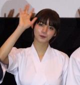 映画『一礼して、キス』の完成披露先行上映会に出席した池田エライザ (C)ORICON NewS inc.