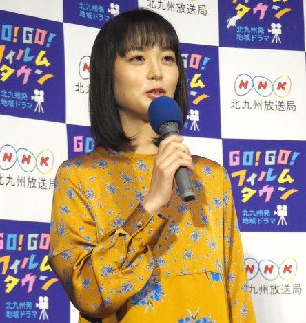 北九州発地域ドラマ『GO!GO!フィルムタウン』の試写会に出席した朝倉あき (C)ORICON NewS inc.