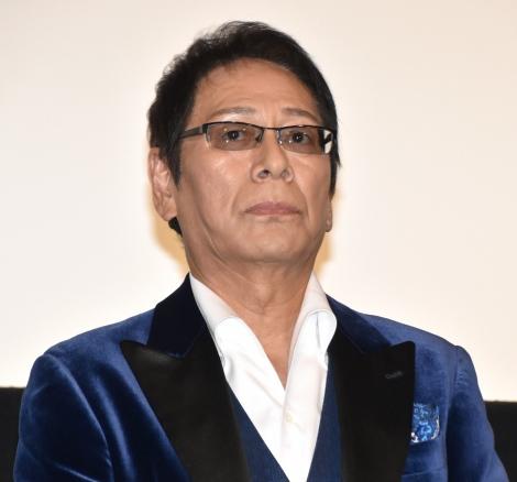 『アウトレイジ 最終章』初日舞台あいさつに登壇した大杉漣 (C)ORICON NewS inc.
