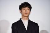 映画『ナラタージュ』公開初日舞台あいさつに登壇した坂口健太郎