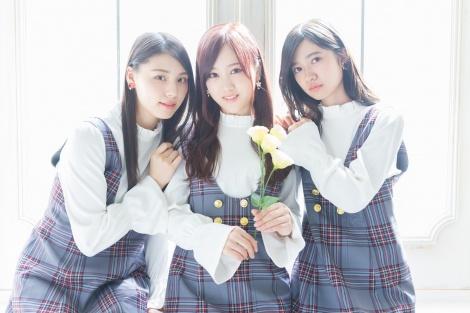 サムネイル モデル:相楽伊織、星野みなみ、寺田蘭世(左から)