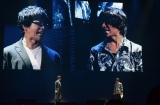 『MBSアニメフェス』『青の祓魔師 京都不浄王篇』(左から)福山潤、岡本信彦(C)MBS
