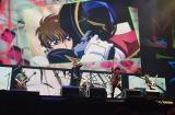 『MBSアニメフェス』『コードギアス 反逆のルルーシュ』のスペシャルアーティストとしてFLOWが登場(C)MBS