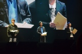 『MBSアニメフェス』『黒子のバスケ』(左から)木村良平(黄瀬涼太役)、小野賢章(黒子テツヤ役)、諏訪部順一(青峰大輝役)(C)MBS