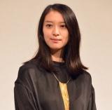 結婚&妊娠発表後、初めて公の場に姿を見せた武井咲=ドラマ『今からあなたを脅迫します』トークイベント (C)ORICON NewS inc.