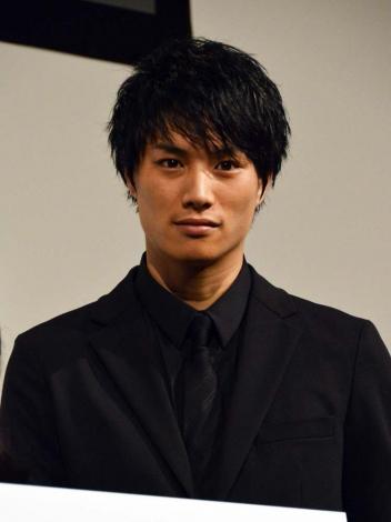 日本テレビ系新ドラマ『今からあなたを脅迫します』(10月15日スタート)トークイベントに出席した鈴木伸之 (C)ORICON NewS inc.