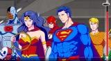 『DCスーパーヒーローズvs鷹の爪団』のバトルシーンが公開