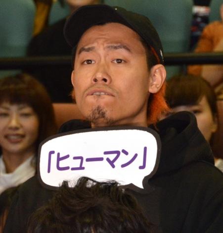 ドラマ『刑事ゆがみ』の完成披露試写会に出席したWANIMA・KO-SHIN (C)ORICON NewS inc.