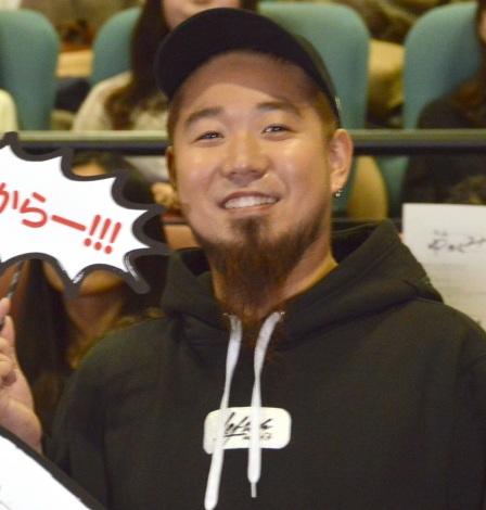 ドラマ『刑事ゆがみ』の完成披露試写会に出席したWANIMA・FUJI (C)ORICON NewS inc.